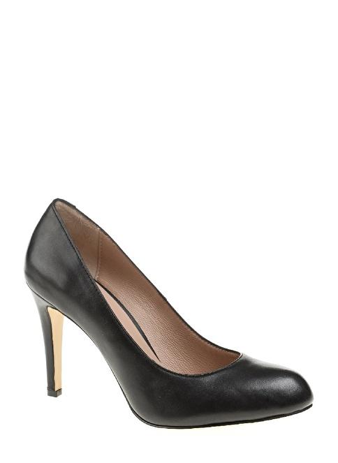 Divarese İnce Topuklu Ayakkabı Siyah